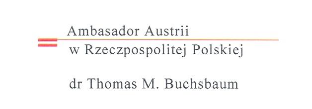 dr Thomas M. Buchsbaum, ambasador Austrii